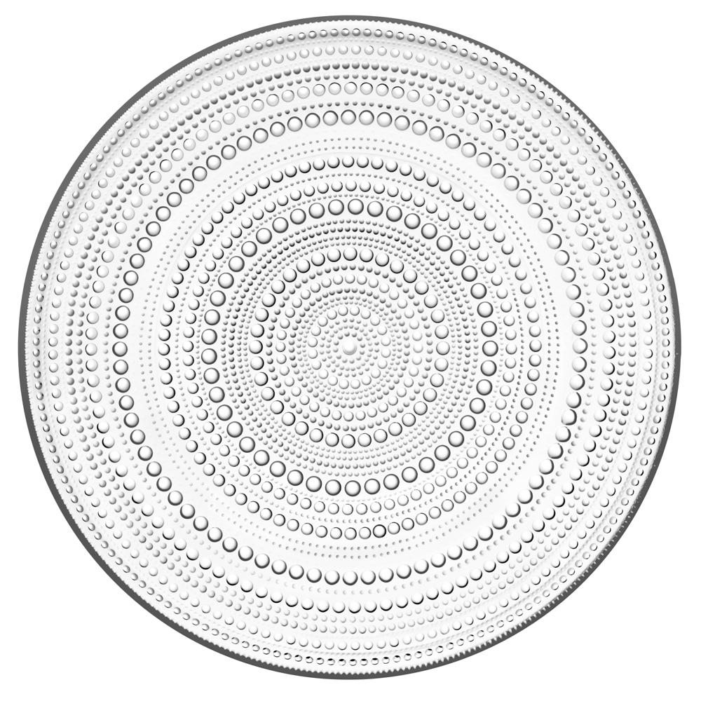 Iittala-Kastehelmi-Teller-klar-31-5cm-Tortenplatte-NEU