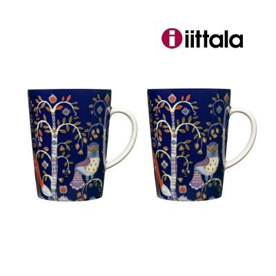 Iittala-Taika-blau-2-Becher-Kaffeebecher-Neu
