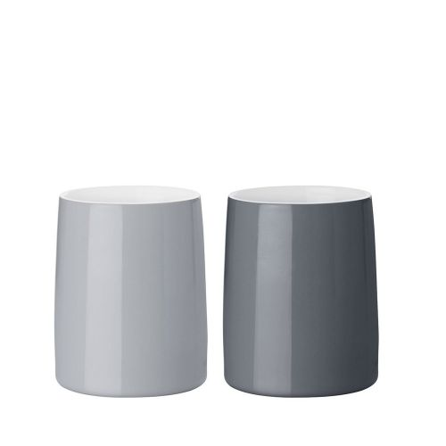 Stelton Emma Thermobecher - 2er-Set - grau