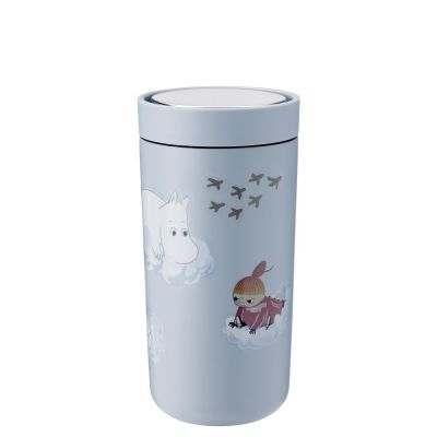 Stelton To Go Click Thermobecher Moomin - 0.4 l - soft cloud
