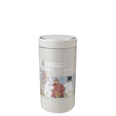 Stelton To Go Click Thermobecher Moomin - 0.2 l - soft sand
