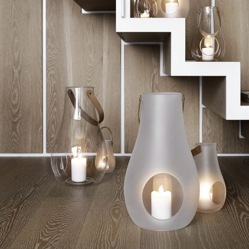 Holmegaard design with light   bodenlaterne   tevala