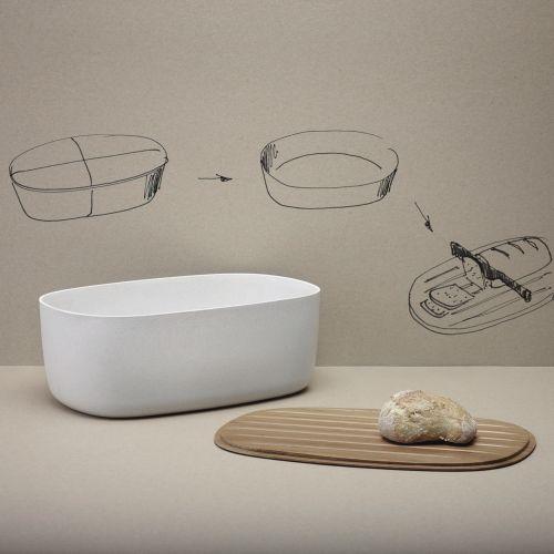 rig tig by stelton brotkasten wei tevala. Black Bedroom Furniture Sets. Home Design Ideas